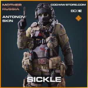 sickle antonov skin in Warzone and Cold War