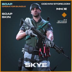 Skye Soap skin in Warzone and Modern Warfare