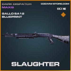 Slaughter Gallo SA12 blueprint skin in Warzone and Cold War