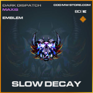 Slow Decay emblem in Warzone and Cold War