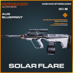 Solar Flare AUG blueprint skin in Warzone and Cold War