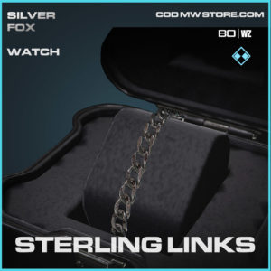 Sterling Links watch in Warzone and Cold War