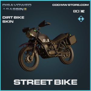 Street Bike Dirt Bike Skin in Warzone and Cold War