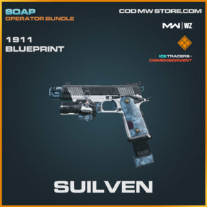 Suilven 1911 blueprint skin in Warzone and Modern Warfare