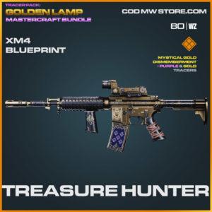 Treasure Hunter XM4 blueprint skin in Warzone and Cold War