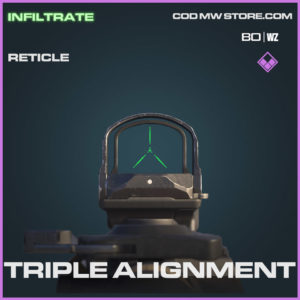 Triple Alignment reticle in Warzone and Cold War