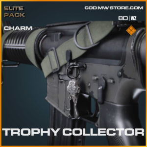 Trophy Collector charm in Warzone and Cold War