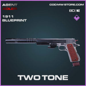Two Tone 1911 blueprint skin in Warzone and Cold War