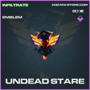 Undead Stare emblem in Warzone and Cold War