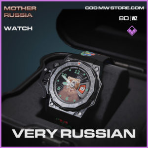very russian watch in Warzone and Cold War