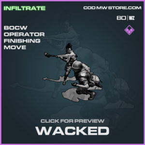 Wacked Finishing move in Warzone and Cold War