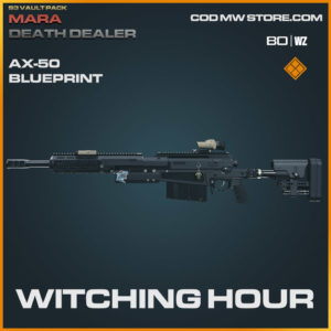 Witching Hour AX-50 blueprint skin in Warzone and Modern Warfare