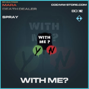 With Me? Spray in Warzone and Modern Warfare