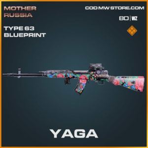 yaga type 63 blueprint in Warzone and Cold War