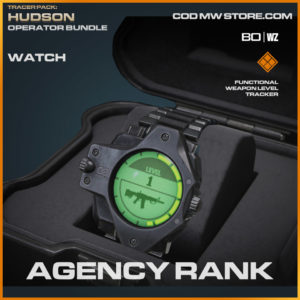 Agency Rank watch in Warzone and Cold War