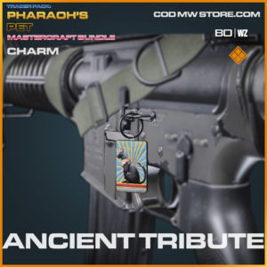 Ancient Tribute charm in Warzone and Cold War
