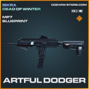 Artful Dodger MP7 blueprint skin in Warzone and Modern Warfare