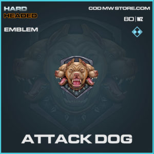 Attack Dog emblem in Warzone and Cold War