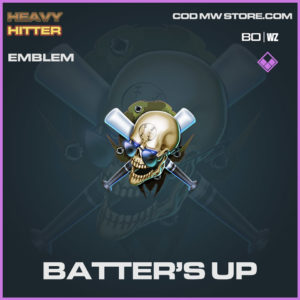Batter's Up emblem in Warzone and Cold War