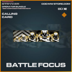 Battle Focus calling card in Warzone and Cold War