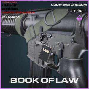 Book of Law charm in Warzone and Cold War