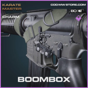 Boombox charm in Warzone and Cold War
