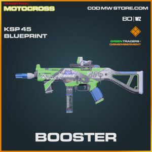Booster KSP 45 blueprint skin in Warzone and Cold War