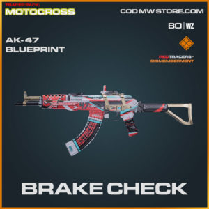 Bake Check AK-47 blueprint skin in Warzone and Cold War