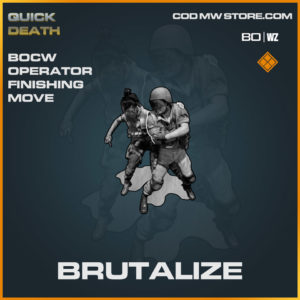 Brutalize Finishing Move in Warzone and Cold War
