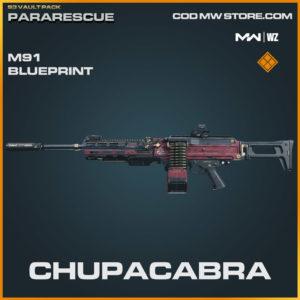 Chupacabra m91 blueprint skin in Warzone and Modern Warfare