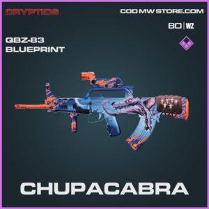 Chupacabra QBZ-83 blueprint skin in Warzone and Cold War