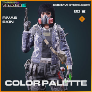 Color Palette Rivas skin in Warzone and Cold War