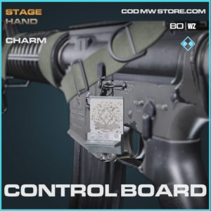 Control Board charm in Warzone and Cold War