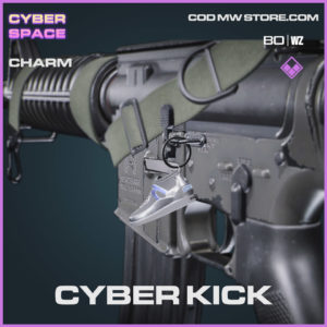 Cyber Kick charm in Warzone and Cold War