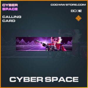 Cyber Space calling card in Warzone and Cold War