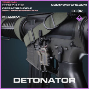 Detonator charm in Warzone and Cold War