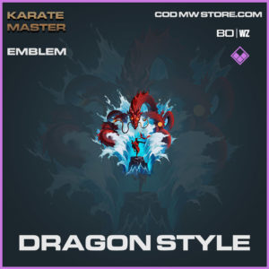 Dragon Style emblem in Warzone and Cold War