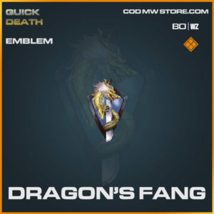 Dragon's Fang Emblem in Warzone and Cold War