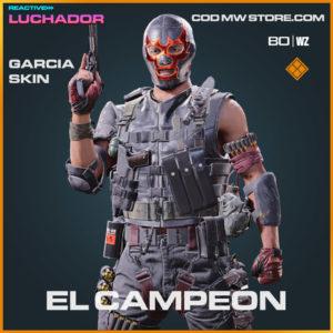 El Campeón Garcia Skin in Warzone and Cold War