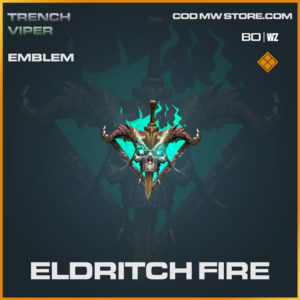 Eldritch Fire emblem in Warzone and Cold War