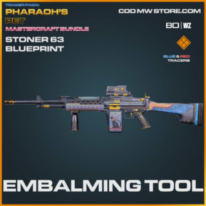 Embalming Tool Stoner 63 blueprint skin in Warzone and Cold War