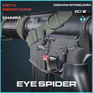 Eye Spider charm in Warzone and Cold War