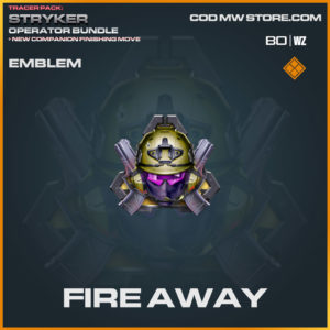 Fire Away emblem in Warzone in Cold War