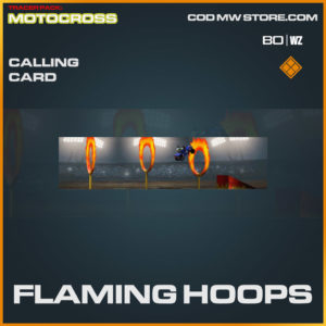 Flaming Hoops calling card in Warzone and Cold War