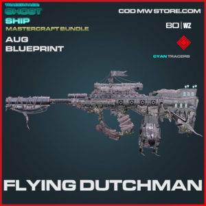Flying Dutchman AUG blueprint skin in Warzone and Cold War