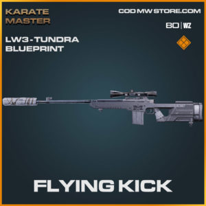 Flying Kick LW3-Tundra blueprint skin in Warzone and Cold War