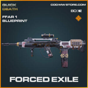Forced Exile FFAR 1 blueprint skin in Warzone and Cold War