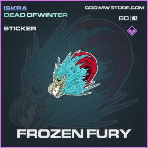 Frozen Fury sticker in Warzone and Modern Warfare