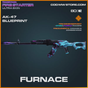 Furnace ak-47 blueprint skin in Warzone and Cold War