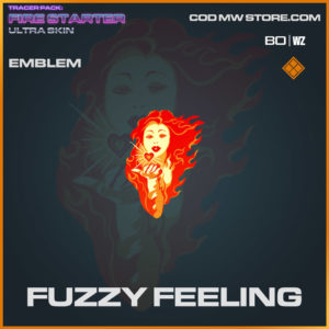 Fuzzy Feeling emblem in Warzone and Cold War